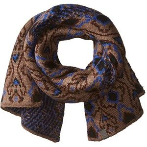 Marc New York woven scarf geometric pattern